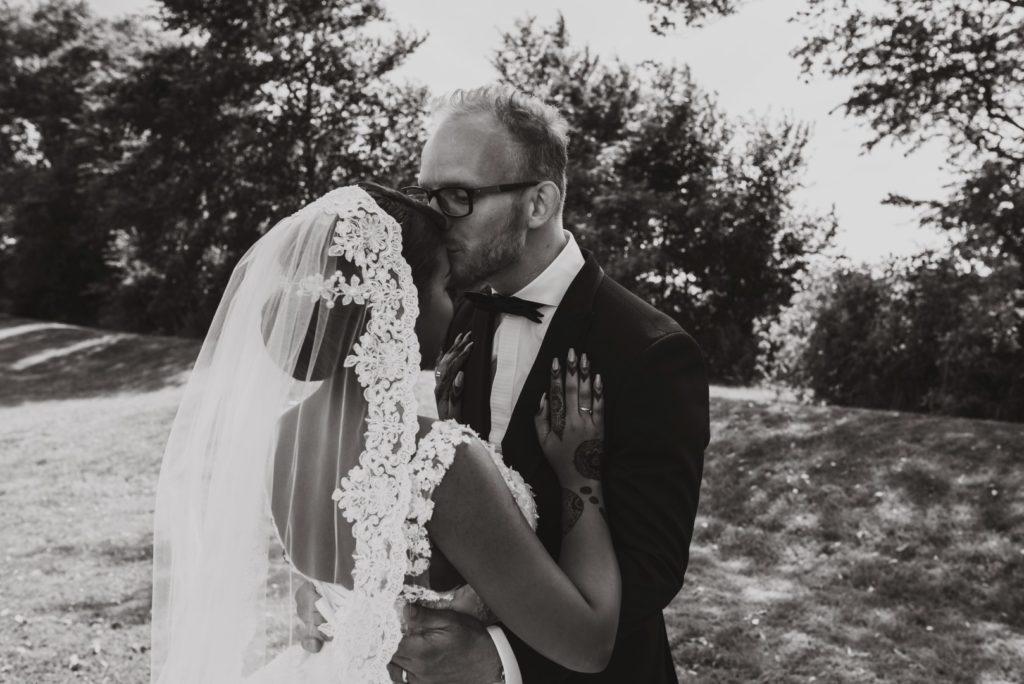 Blog over de fotografie van deze bruiloft van dit koppel